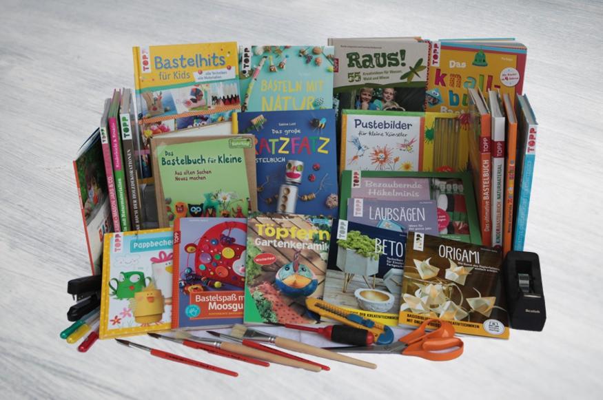 Bastelbücher - Experimente und Spiele für Kinder für drinnen und draußen - beim Krauth