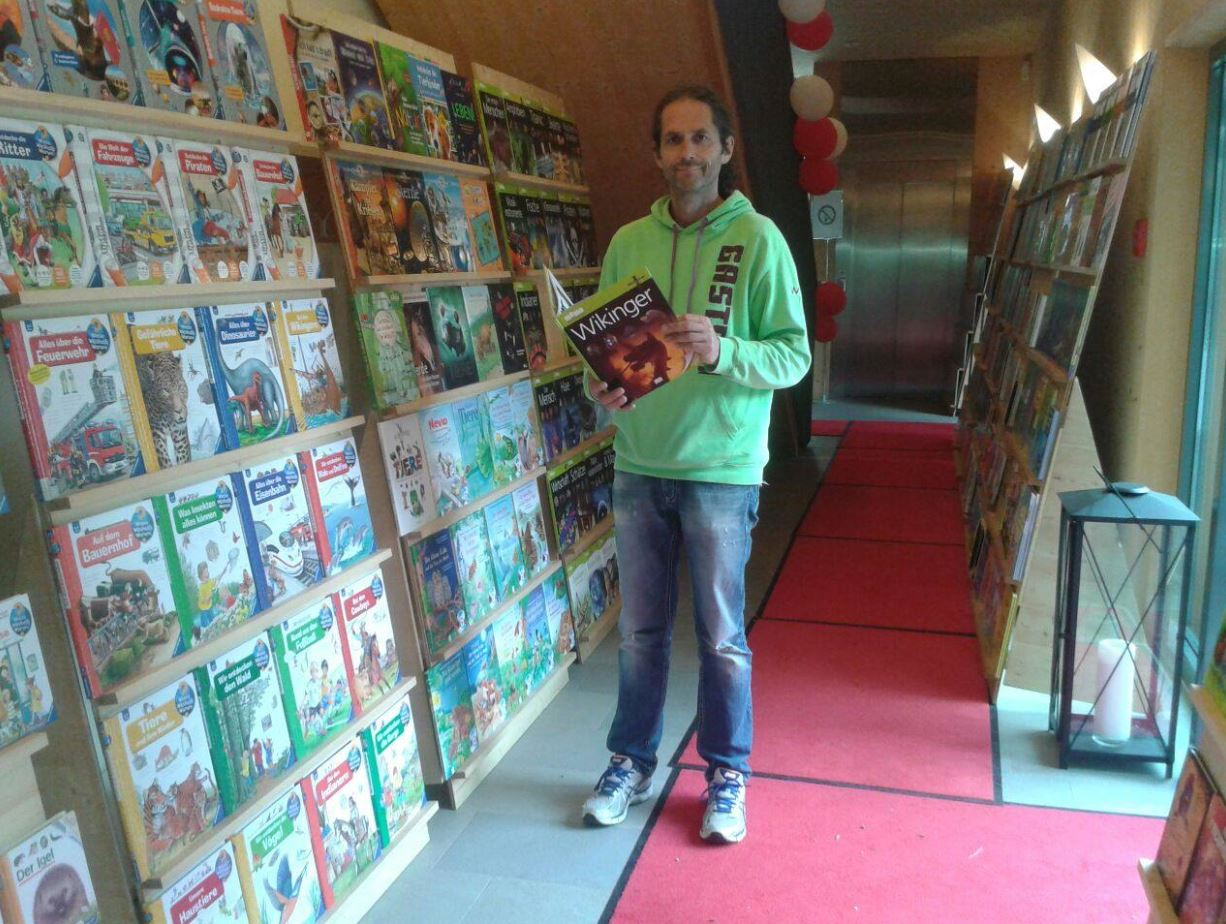 Kinderbuchausstellung im Rahmen des Kindermusikfestivals St. Gilgen im Mozarthaus - Musik-Bücher-Kinder