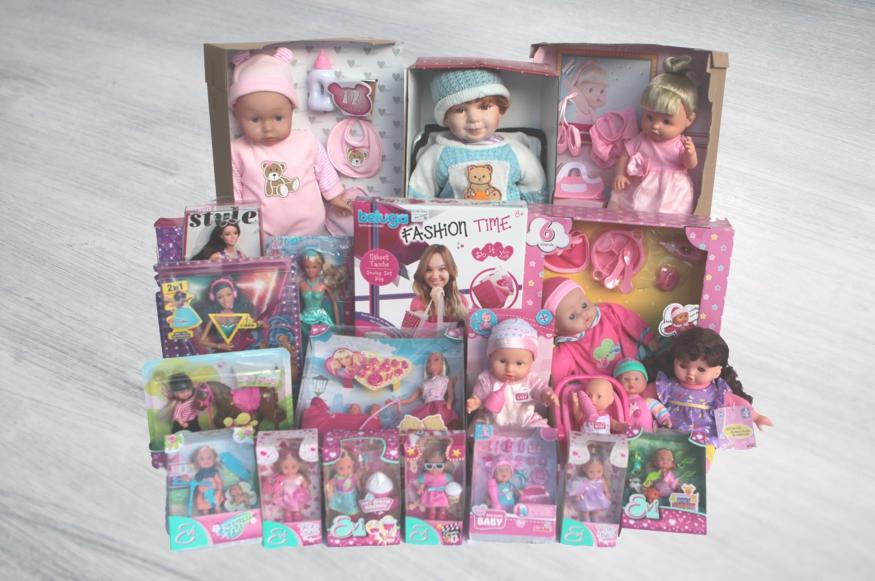 beim Krauth - Auswahl verschiedener Puppen
