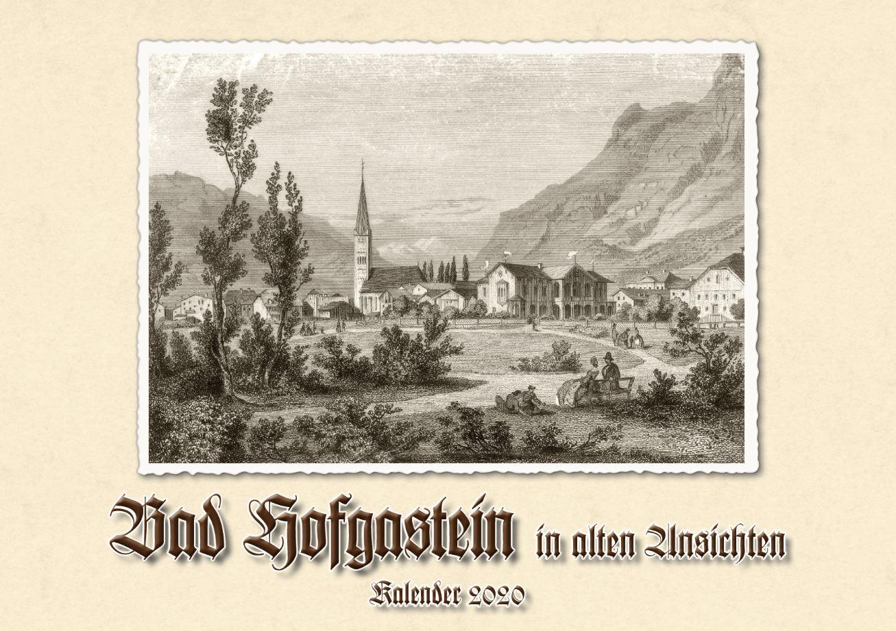 beim krauth Titelbild Kalender Bad Hofgastein in alten Ansichten 2020