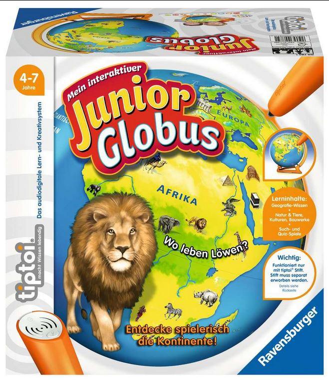 beim Krauth 007851,61 Tiptoi Mein interaktiver Junior-Globus 64,99