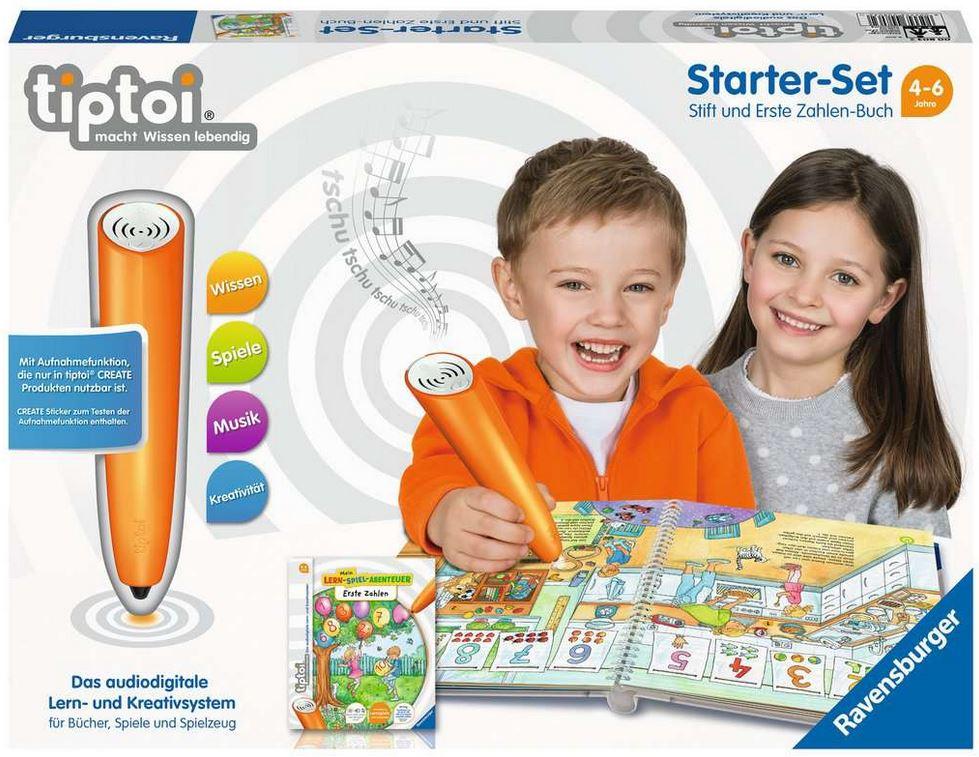 beim Krauth 008032,61 Tiptoi Starter Set Zahlenbuch 65,99